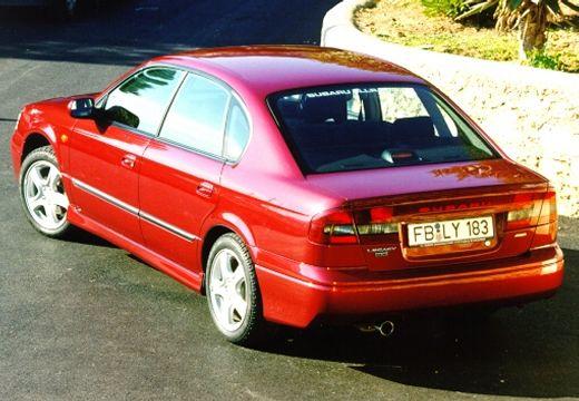 SUBARU Legacy III sedan czerwony jasny tylny lewy