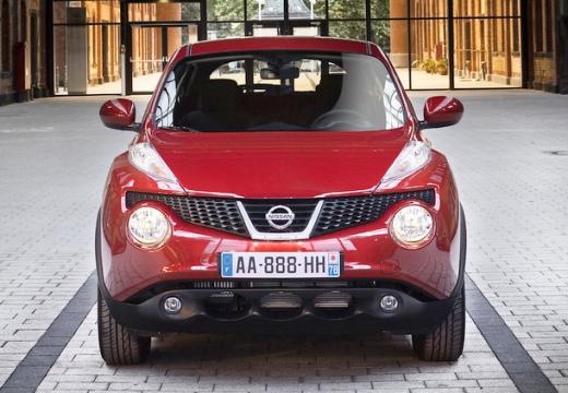 NISSAN Juke I hatchback czerwony jasny przedni