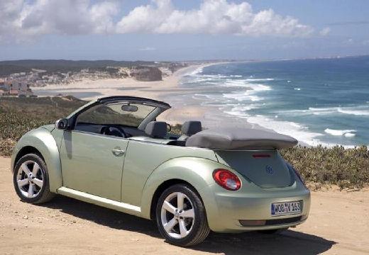 VOLKSWAGEN New Beetle Cabriolet II kabriolet zielony jasny tylny lewy