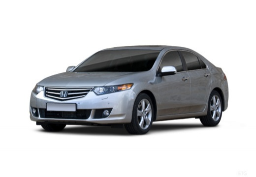 HONDA Accord VII sedan silver grey