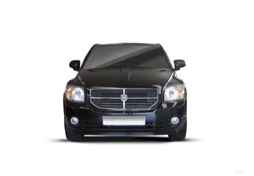 DODGE Caliber II hatchback czarny przedni