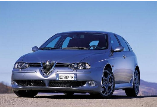 ALFA ROMEO 156 kombi szary ciemny przedni lewy