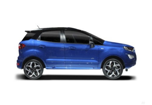 FORD Ecosport I hatchback boczny prawy