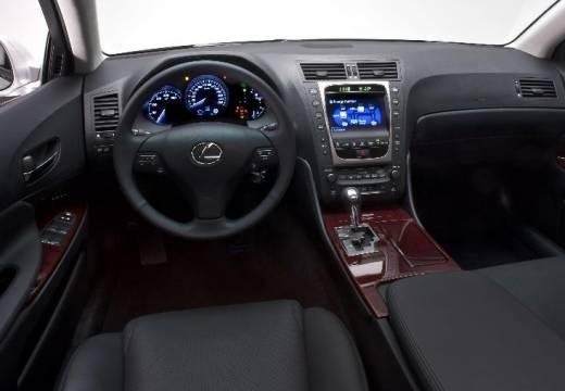 LEXUS GS III sedan silver grey tablica rozdzielcza