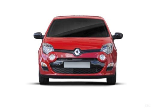 RENAULT Twingo V hatchback czerwony jasny przedni