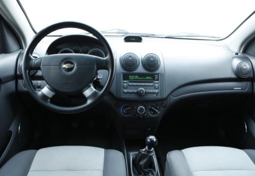 CHEVROLET Aveo II hatchback czarny tablica rozdzielcza