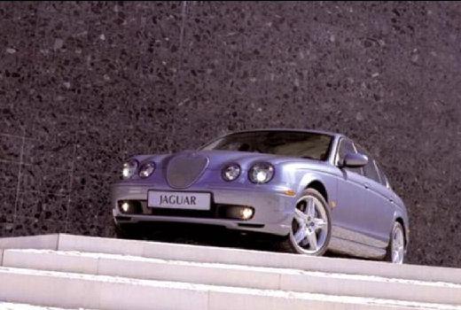 JAGUAR S-Type II sedan silver grey przedni lewy