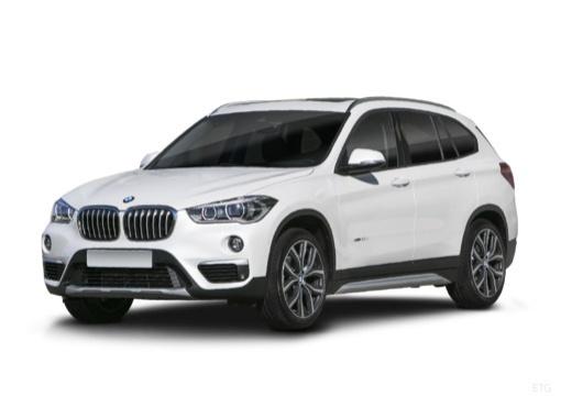 BMW X1 X 1 F48 I kombi biały przedni lewy