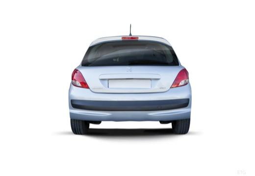 PEUGEOT 207 II hatchback tylny