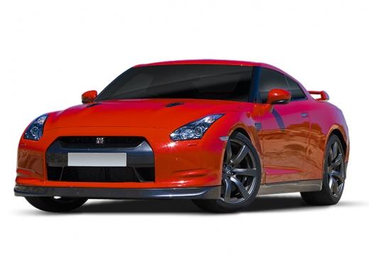NISSAN GT-R I coupe czerwony jasny
