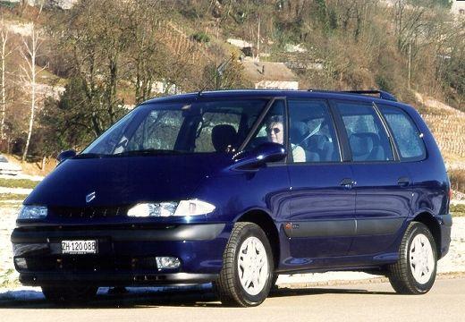 RENAULT Espace III van niebieski jasny przedni lewy