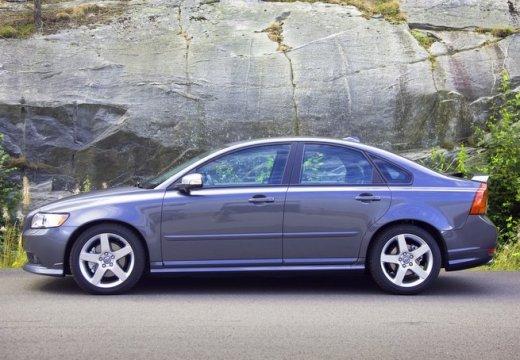 VOLVO S40 V sedan niebieski jasny boczny lewy