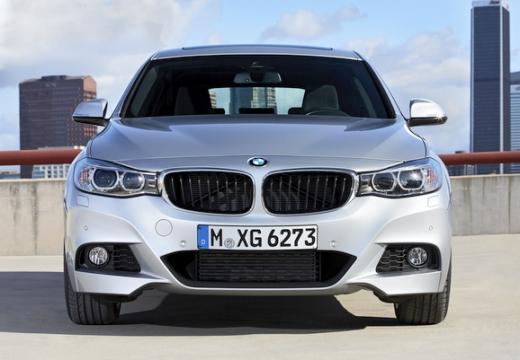 BMW Seria 3 Gran Turismo hatchback silver grey przedni