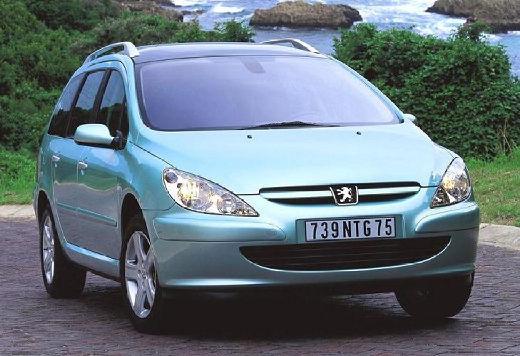 PEUGEOT 307 1.6 Kombi SW I 110KM (benzyna)
