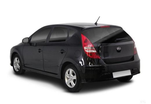 HYUNDAI i30 II hatchback czarny tylny lewy