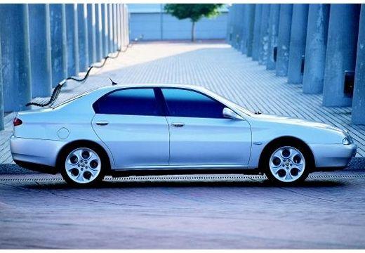 ALFA ROMEO 166 sedan silver grey boczny prawy