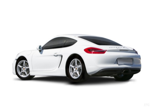 PORSCHE Cayman coupe tylny lewy