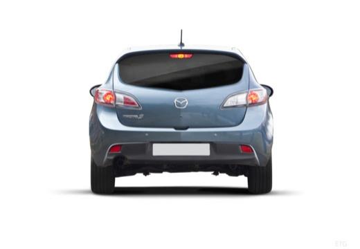 MAZDA 3 IV hatchback tylny