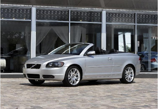 VOLVO C70 kabriolet silver grey przedni lewy