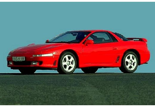 MITSUBISHI 3000 GT coupe czerwony jasny przedni prawy