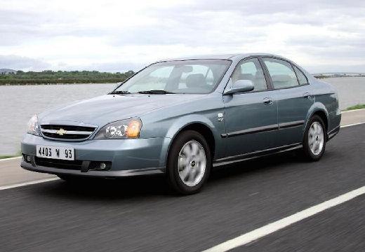 CHEVROLET Evanda sedan silver grey przedni lewy