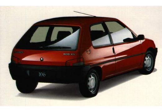 PEUGEOT 106 1.1 XN Hatchback I 1.2 60KM (benzyna)