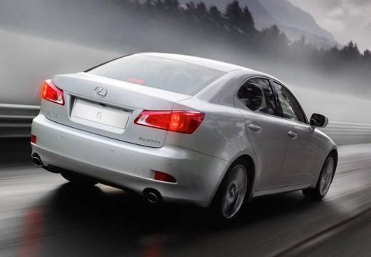 LEXUS IS III sedan silver grey tylny prawy