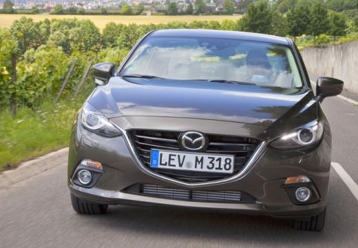 MAZDA 3 V sedan silver grey przedni