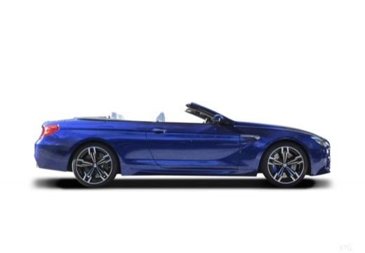 BMW Seria 6 kabriolet boczny prawy