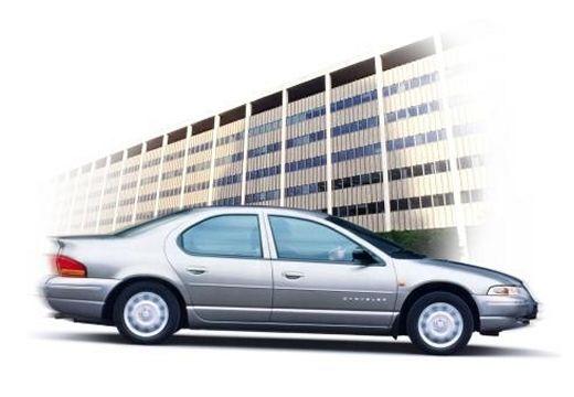 DODGE Stratus I sedan silver grey boczny prawy