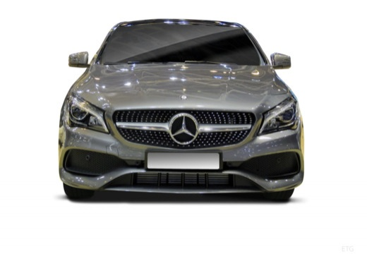 MERCEDES-BENZ Klasa CLA Shooting Brake X 117 kombi przedni