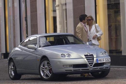 ALFA ROMEO GTV coupe silver grey przedni prawy