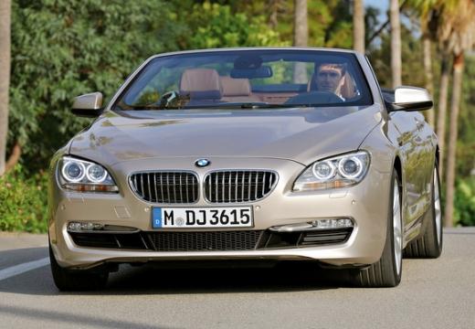 BMW Seria 6 kabriolet beige przedni lewy