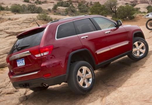 JEEP Grand Cherokee V kombi czerwony jasny tylny prawy