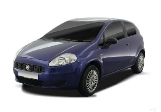 FIAT Punto Grande hatchback niebieski jasny