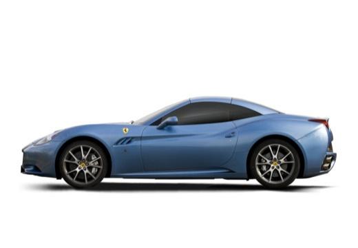 FERRARI California I kabriolet niebieski jasny boczny lewy
