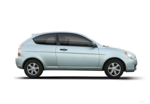 HYUNDAI Accent IV hatchback boczny prawy