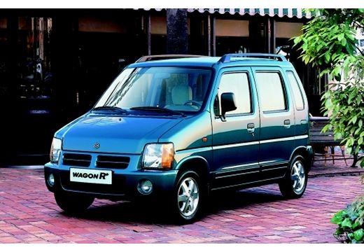 SUZUKI Wagon R+ hatchback niebieski jasny przedni lewy