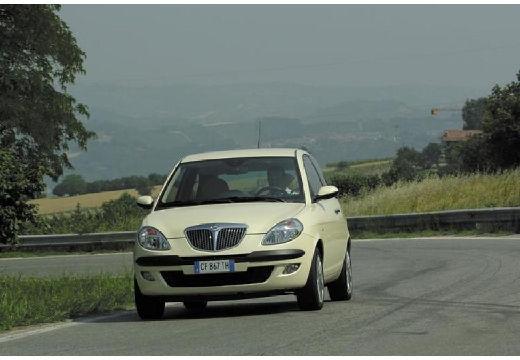 LANCIA Ypsilon hatchback beige przedni lewy