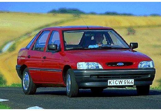 FORD Escort III hatchback czerwony jasny przedni prawy