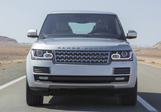 LAND ROVER Range Rover VI kombi silver grey przedni
