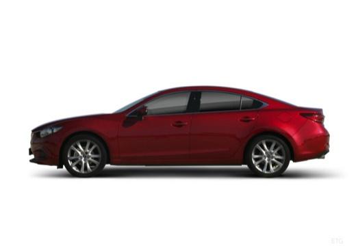 MAZDA 6 V sedan boczny lewy