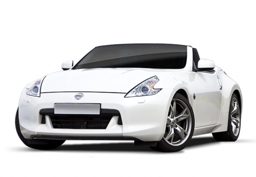 NISSAN 370 Z roadster biały