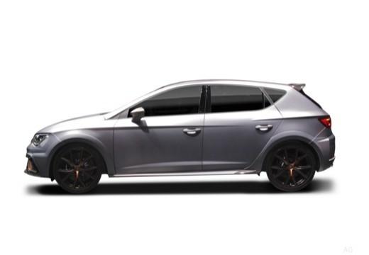 SEAT Leon hatchback boczny lewy