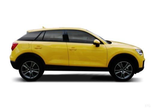 AUDI Q2 hatchback boczny prawy