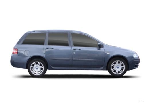 FIAT Stilo Multiwagon I kombi szary ciemny boczny prawy