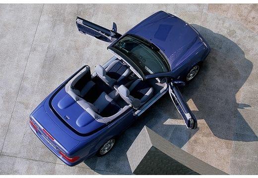 MERCEDES-BENZ Klasa CLK CLK Cabriolet A 208 kabriolet niebieski jasny górny tylny