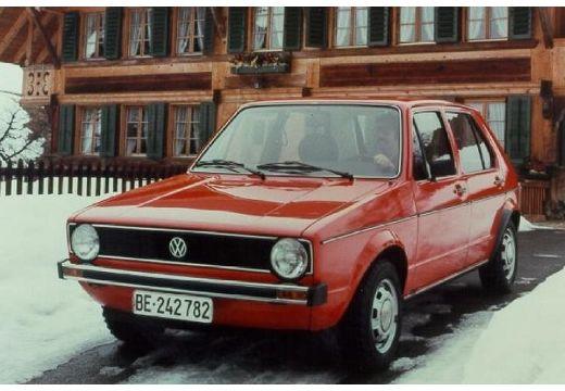 VOLKSWAGEN Golf I 17 hatchback czerwony jasny przedni lewy