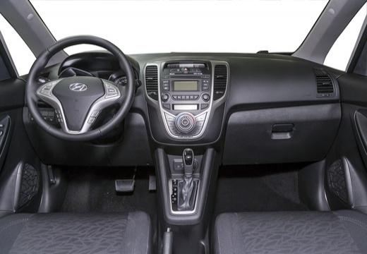HYUNDAI ix20 II hatchback biały tablica rozdzielcza