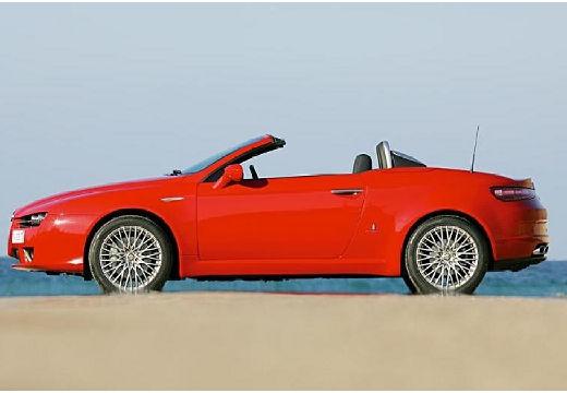 ALFA ROMEO Spider V kabriolet czerwony jasny boczny lewy